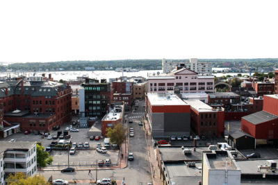 Portland Maine Reimagined: before